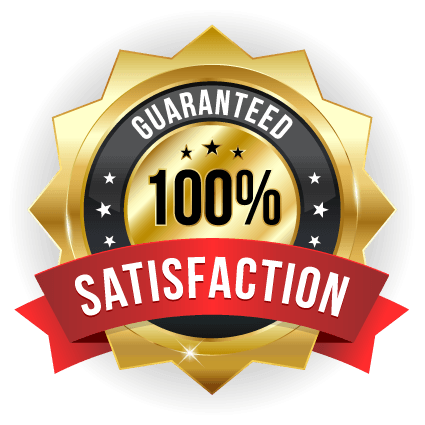 Priority Response 100 percent Satisfaction Guarantee